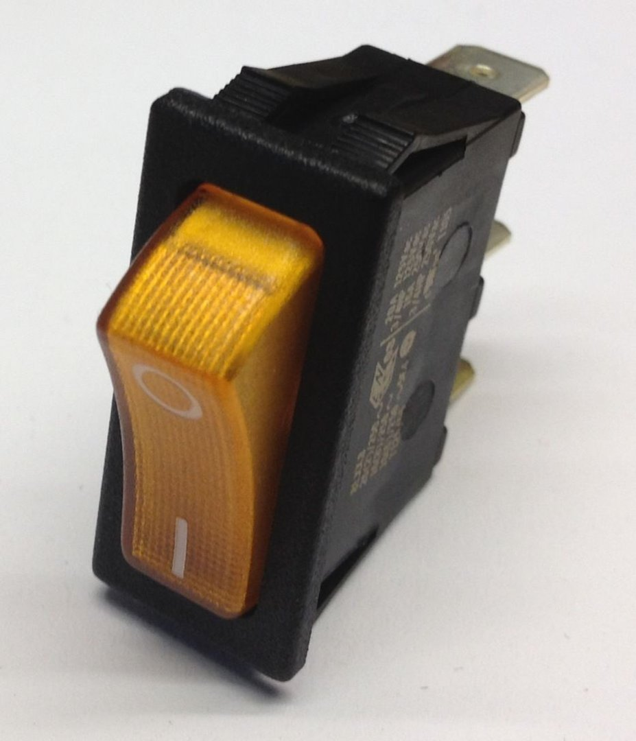 schalter 12v z ndung gelb dometic electrolux absorberk hlschrank. Black Bedroom Furniture Sets. Home Design Ideas